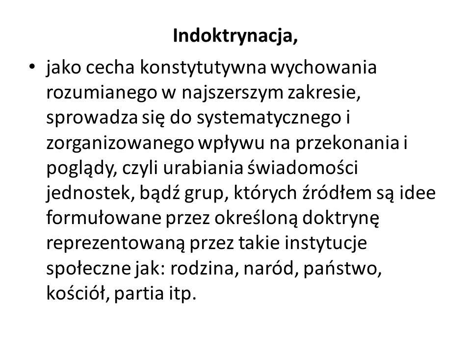Ideologie pedagogiczne wg.S.