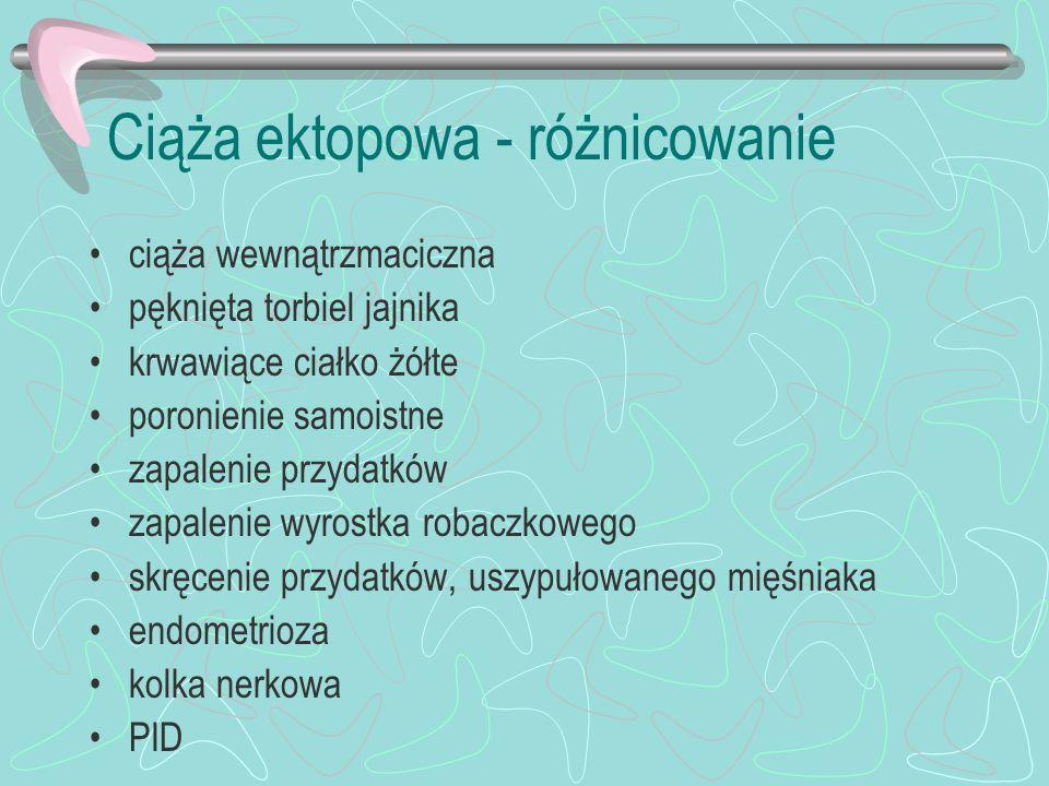 Rozpoznanie infekcji płodu wirusem różyczki: - kordocenteza po 22 tyg.