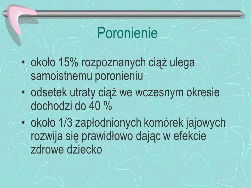 Przebieg rzucawki Okres skurczu tonicznego (ok.1 min) Okres skurczów klonicznych (ok.