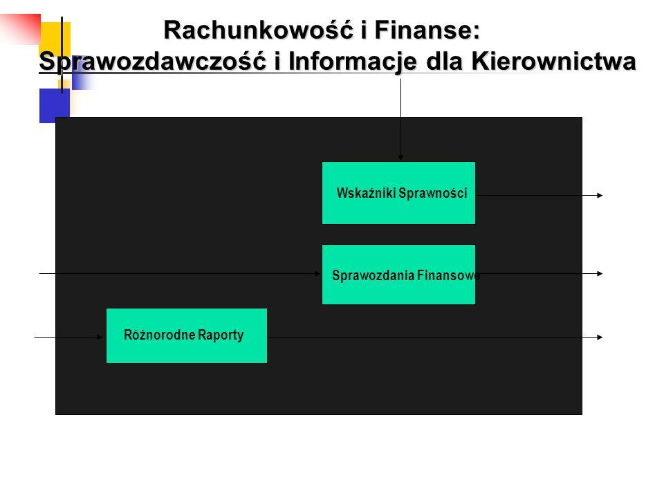 Wskaźniki Sprawności Sprawozdania Finansowe Różnorodne Raporty Rachunkowość i Finanse: Sprawozdawczość i Informacje dla Kierownictwa