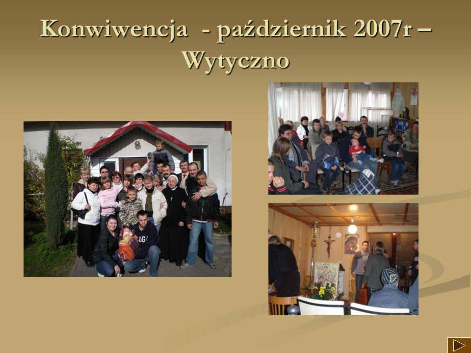 Konwiwencja - październik 2007r – Wytyczno