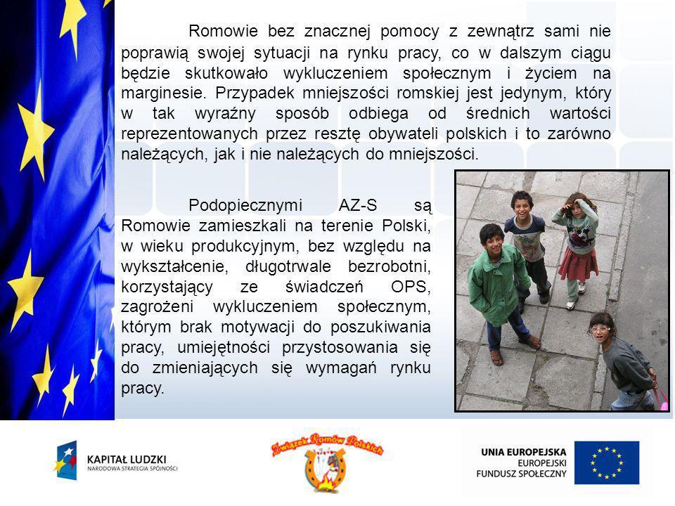Romowie bez znacznej pomocy z zewnątrz sami nie poprawią swojej sytuacji na rynku pracy, co w dalszym ciągu będzie skutkowało wykluczeniem społecznym