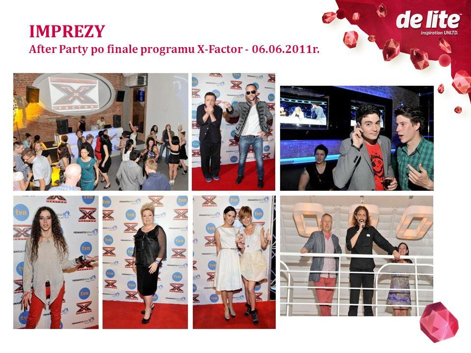 IMPREZY After Party po finale programu X-Factor - 06.06.2011r.
