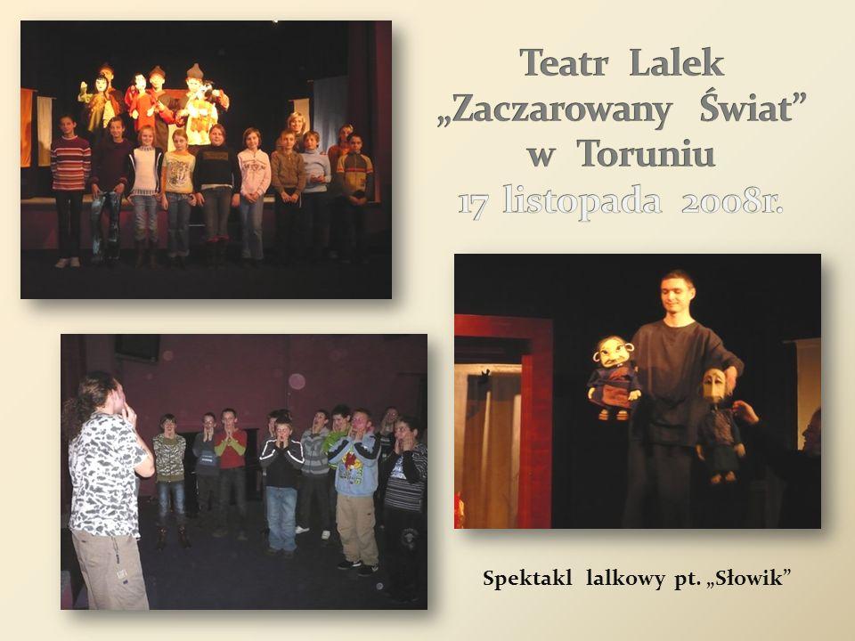 Teatr Kurtyna – spektakl pt.W SZKOLNEJ ŁAWCE Kino Tęcza - film ŚWIĘTY INTERES Planetarium – film WYPRAWA NA ZIEMIĘ Teatr Kurtyna - spektakl pt.