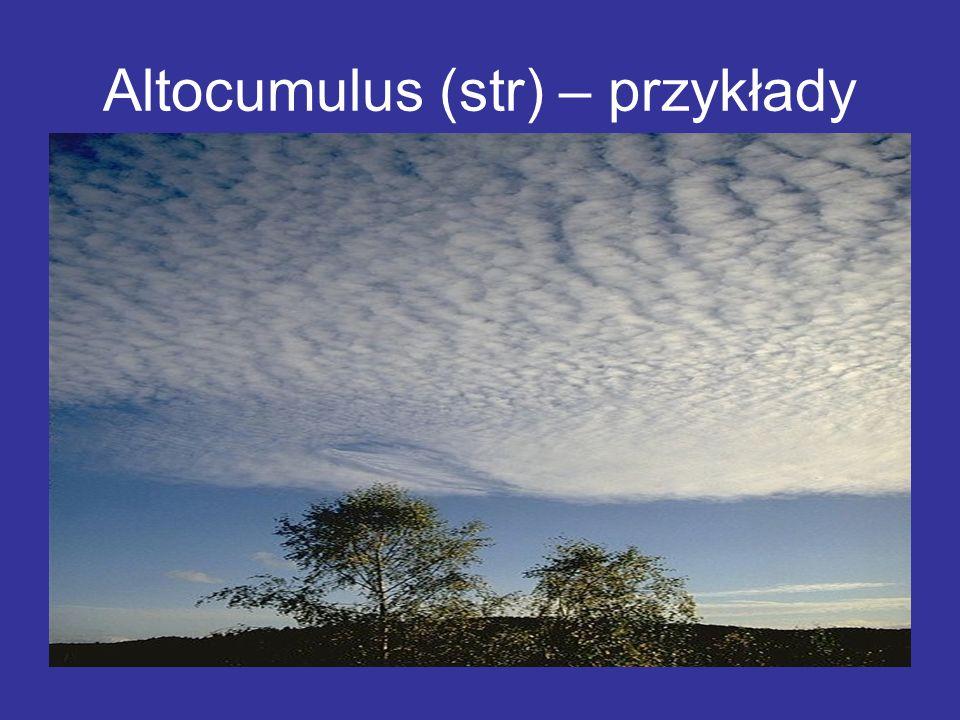 Altocumulus (str) – przykłady