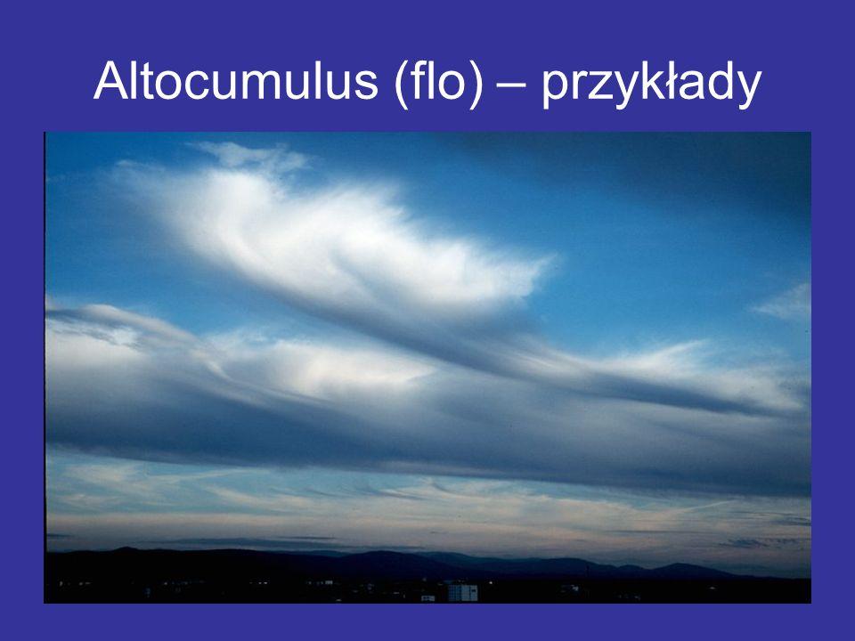 Altocumulus (flo) – przykłady