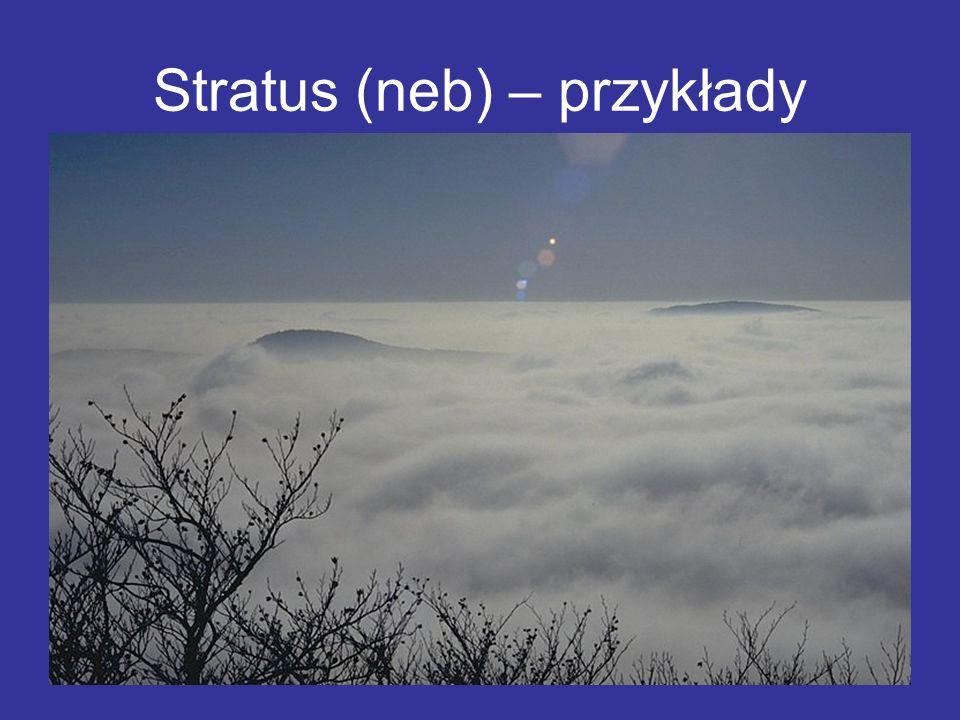 Stratus (neb) – przykłady