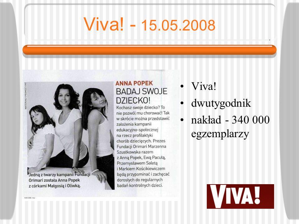 Newsweek Polska - 25.05.2008 Newsweek Polska tygodnik nakład: 310 000 egzemplarzy