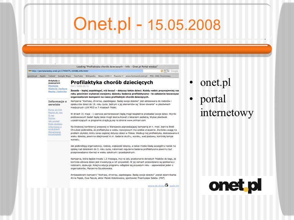 Życie Warszawy - 15.05.2008 zw.com.pl portal internetowy Życia Warszawy