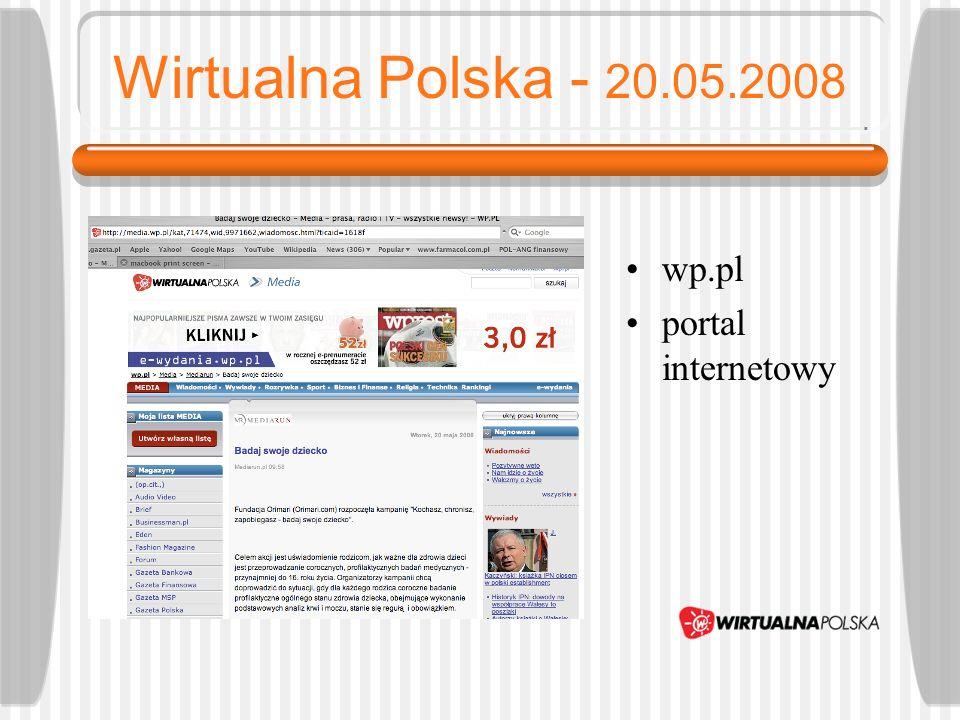 Bankier - 20.05.2008 bankier.pl portal finansowy