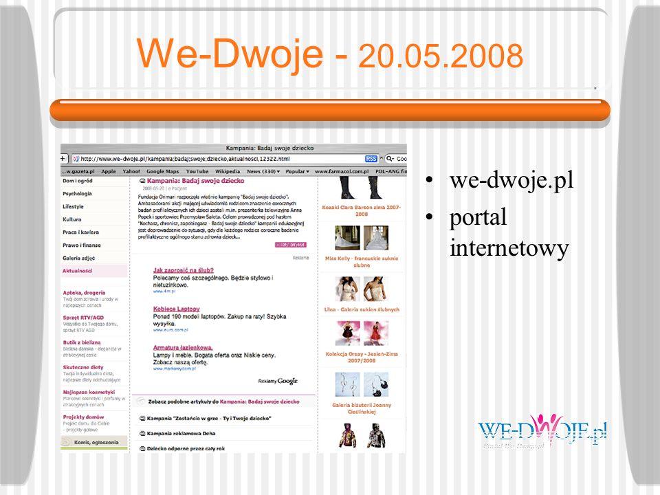 Media dla Dzieci - 20.05.2008 mediadzieci.pl portal o mediach dla dzieci