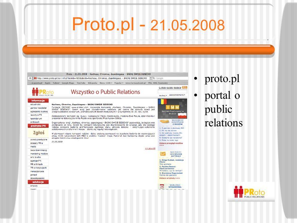 Gazeta.pl - 20.05.2008 gazeta.pl portal internetowy Gazety Wyborczej