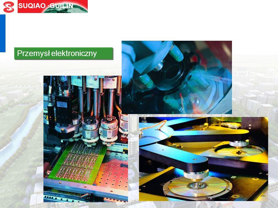 SUQIAO ·GUILIN Przemysł motoryzacyjny Przemysł maszynowy Przemysł fotoelektryczny