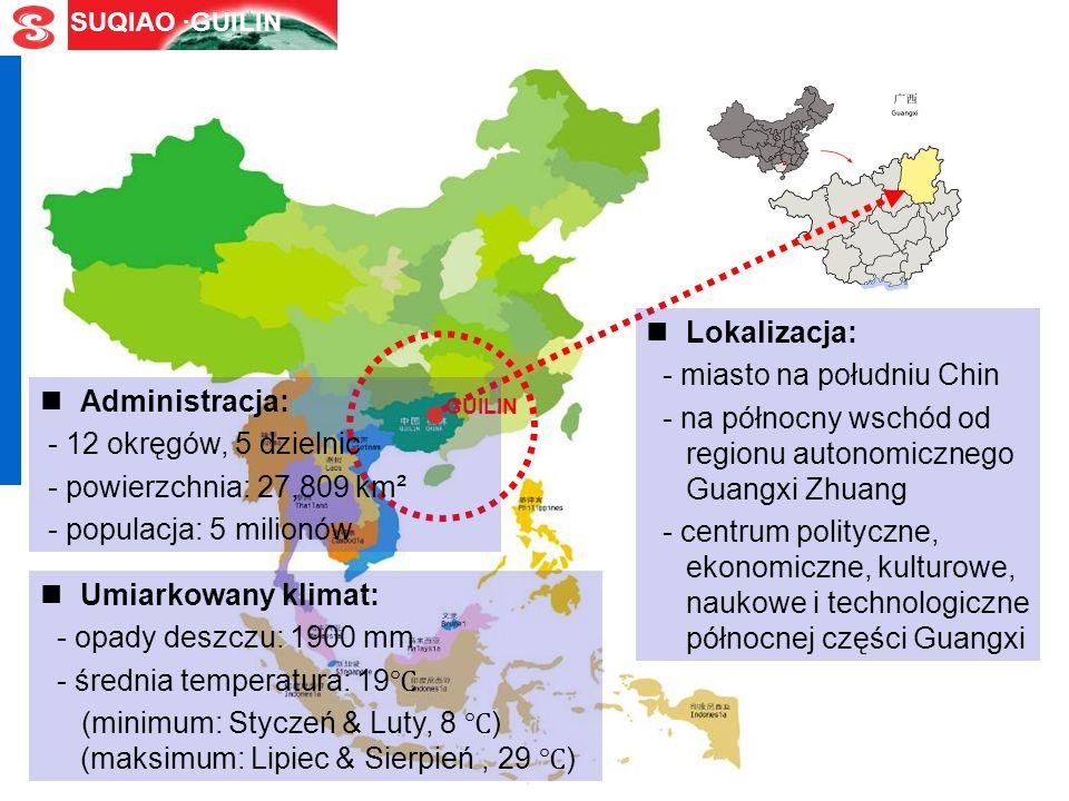 SUQIAO ·GUILIN O mieście Guilin