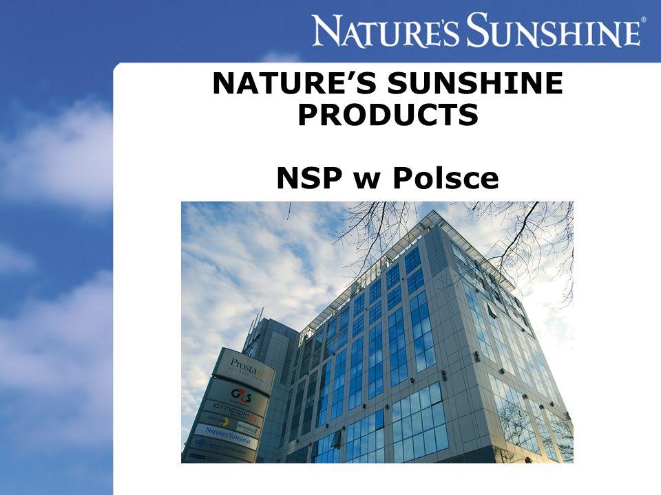 NSP POLSKA Międzynarodowa firma z siedzibą główną w Stanach Zjednoczonych Laboratorium w miejscowości Spanish Fork w stanie Utah, USA.