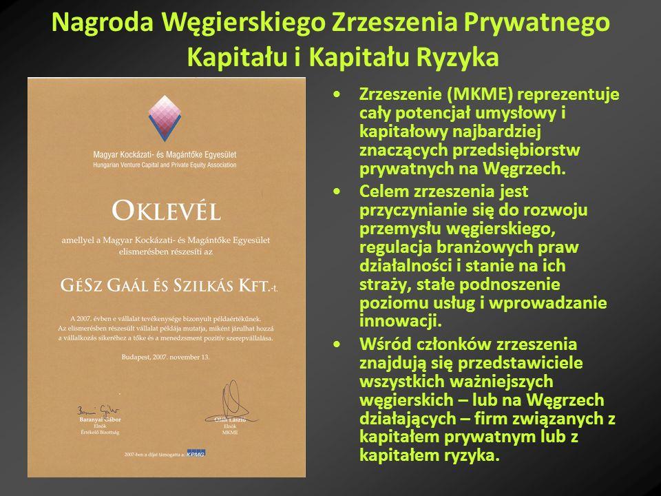 Zrzeszenie (MKME) reprezentuje cały potencjał umysłowy i kapitałowy najbardziej znaczących przedsiębiorstw prywatnych na Węgrzech. Celem zrzeszenia je