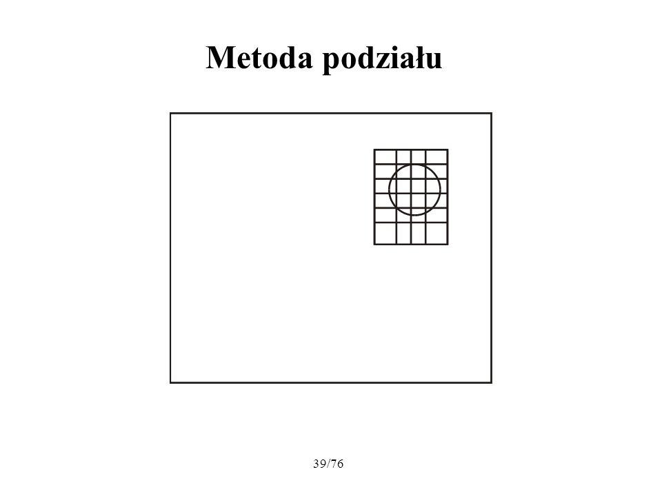39/76 Metoda podziału