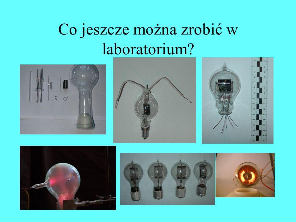 Co jeszcze można zrobić w laboratorium?