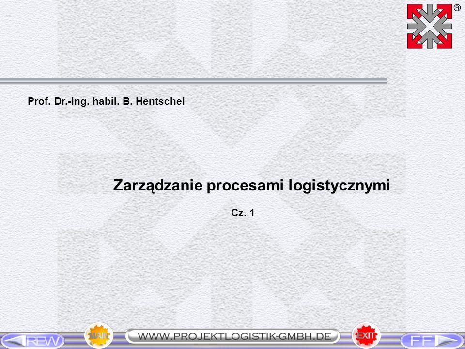 Prof. Dr.-Ing. habil. B. Hentschel Zarządzanie procesami logistycznymi Cz. 1