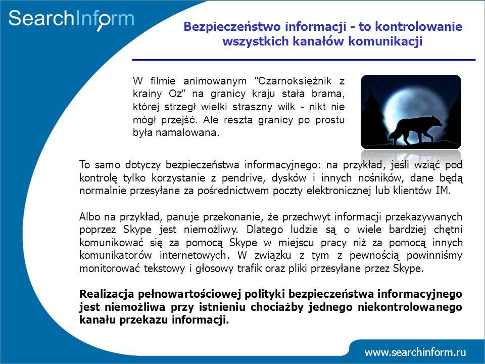 www.searchinform.ru W filmie animowanym