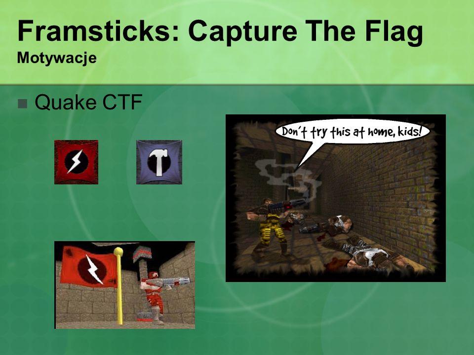 Framsticks: Capture The Flag Motywacje Quake CTF