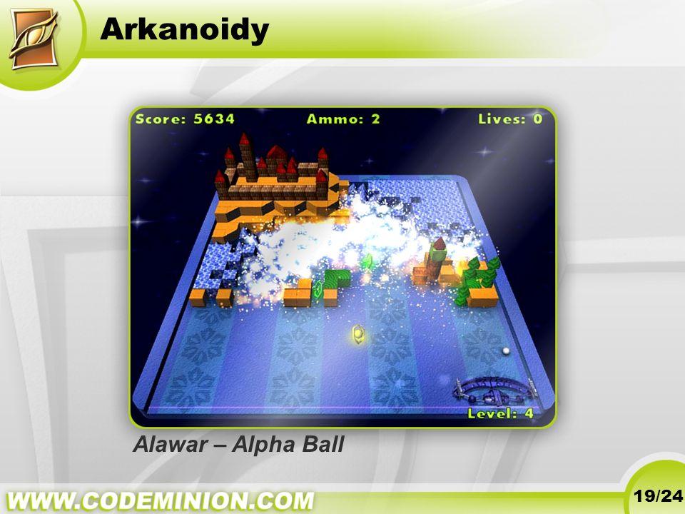 Arkanoidy 19/24 Alawar – Alpha Ball