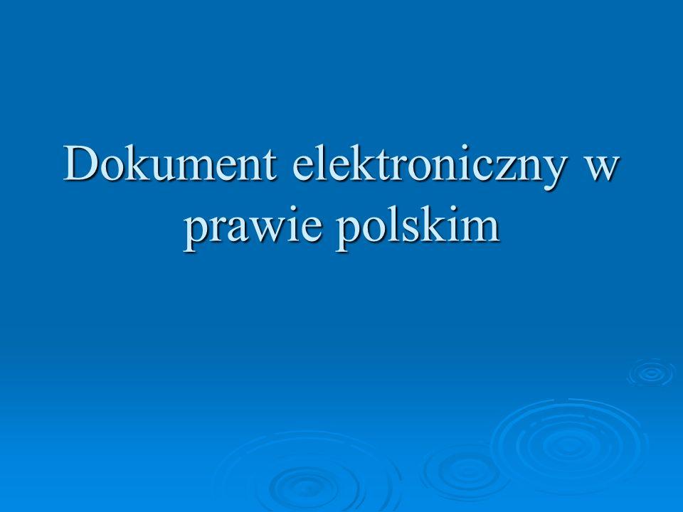 Celem przemian gospodarczo-społecznych na początku XXI w.