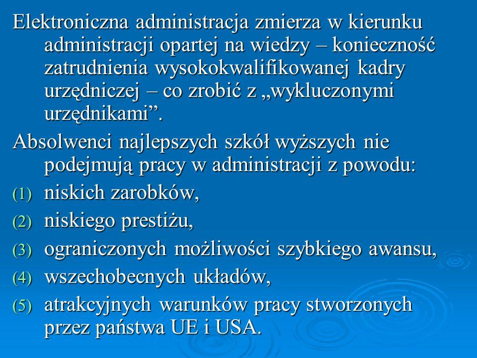 Plan działa na rzecz rozwoju elektronicznej administracji (eGovernment) na lata 20052006, opracowany na podstawie Strategii informatyzacji Rzeczypospolitej Polskiej – ePolska na lata 2004-2006 został przyjęty 26 października 2004 r.