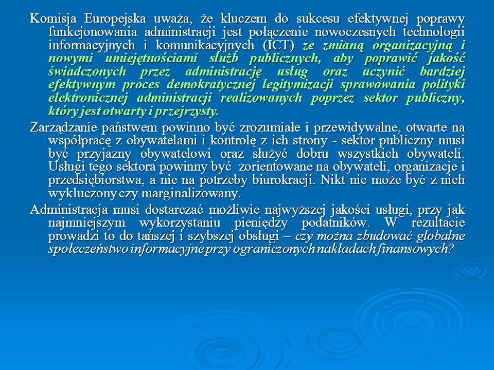 Cele strategiczne w perspektywie 2013: (1) zlikwidowanie zjawiska wykluczenia cyfrowego w zagrożonych grupach społecznych i obszarach geograficznych – sprowadzenie do poziomu marginalnego, (2) wzrost penetracji wielokanałowego dostępu do szerokopasmowego Internetu do poziomu ponad 90 % powierzchni kraju i co najmniej 75% populacji, (3) dalsze wzmocnienie infrastruktury teleinformatycznej nauki umożliwiające aktywne uczestnictwo wszystkich jednostek naukowych w nowych formach aktywności jak np.