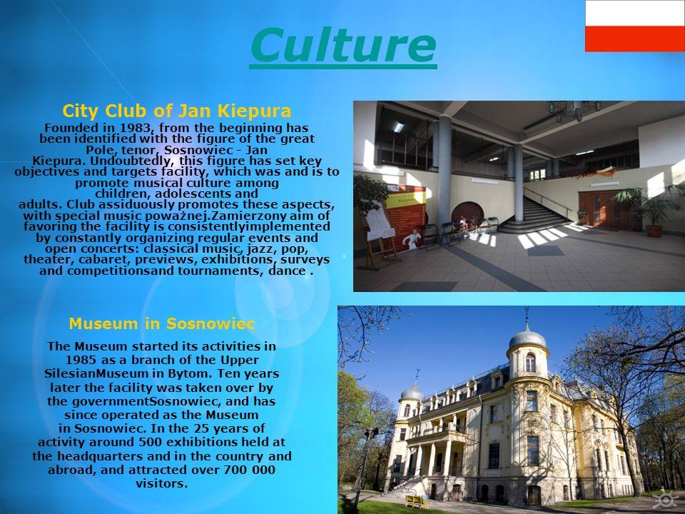 Kultura Miejski Dom Kultury Kazimierz Budynek, w którym obecnie mieści się Miejski Dom Kultury Kazimierz został wybudowany w połowie lat 60 ubiegłego wieku przez KWK Kazimierz-Juliusz.