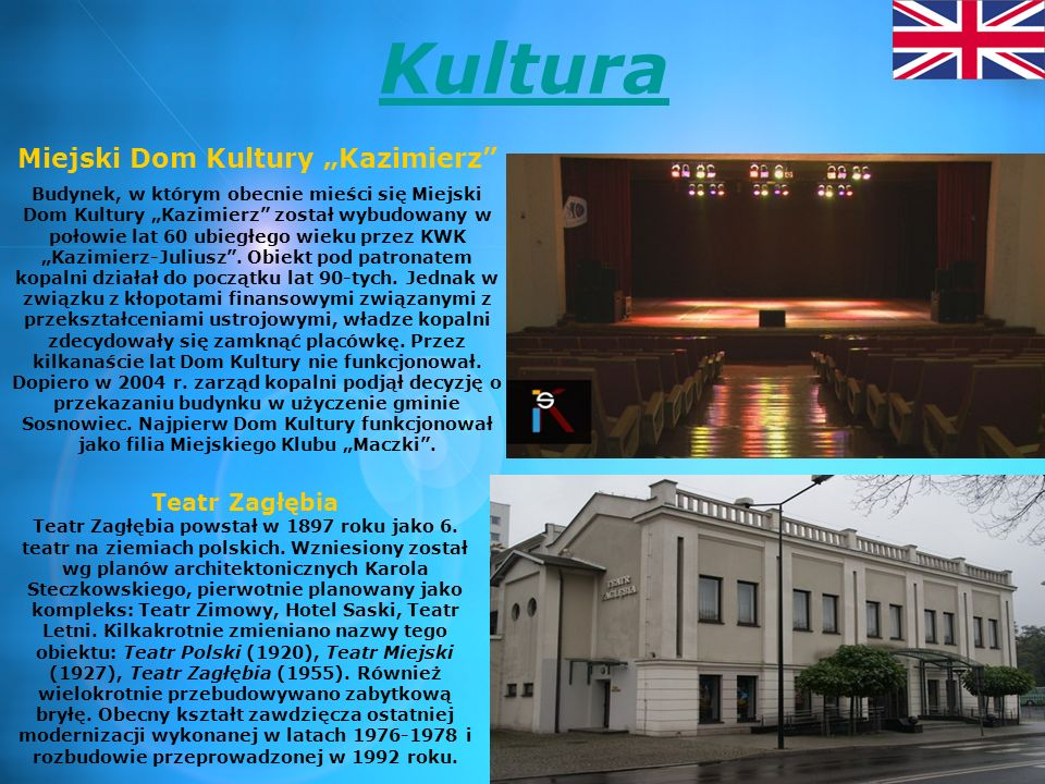Jan Kiepura Since 1912, he attended the seven-Male School of Economics in Sosnowiec, renamed after independence at the National Gymnasium.