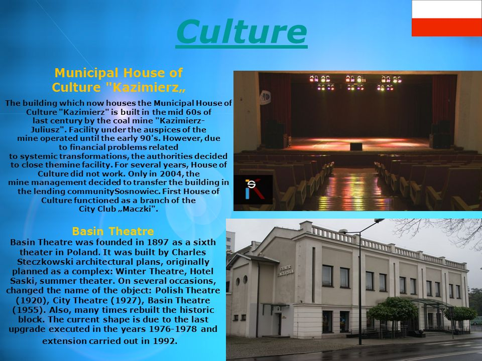 Culture Municipal House of Culture
