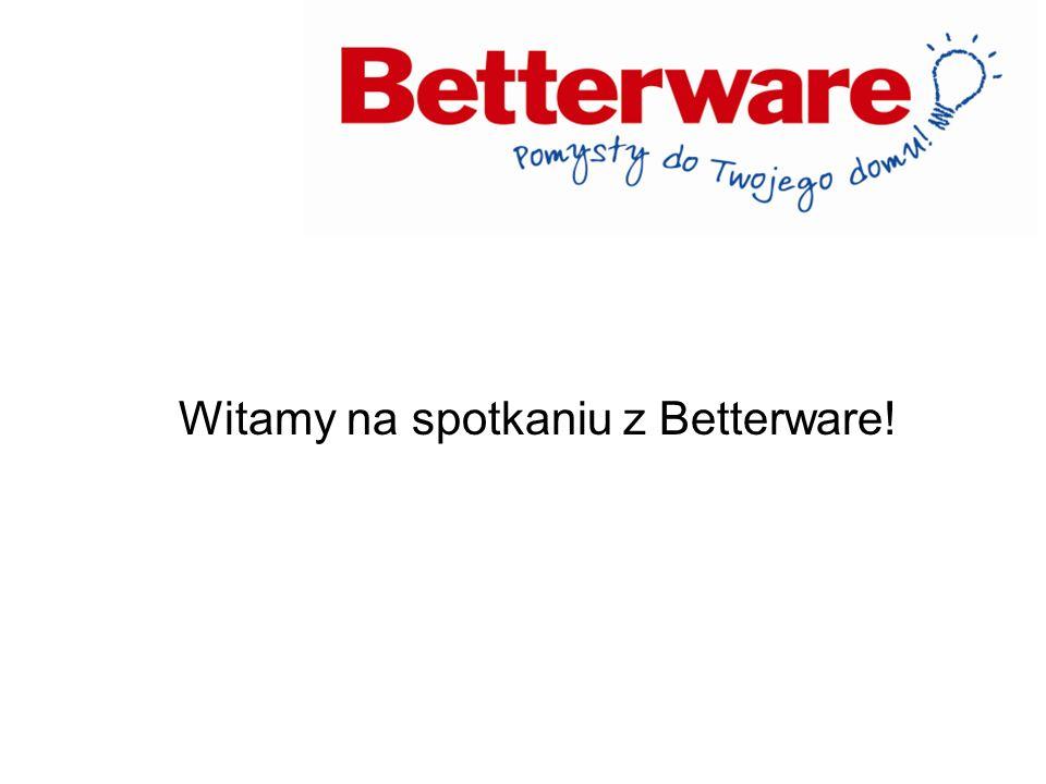 Witamy na spotkaniu z Betterware!