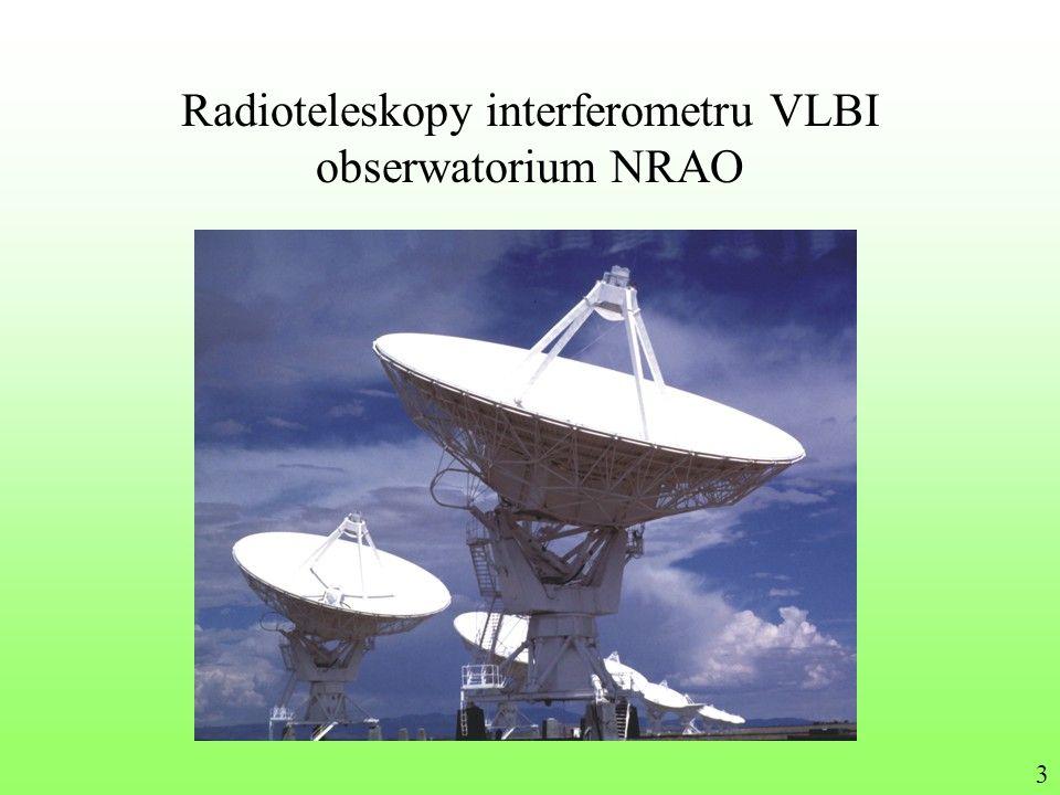 Radioteleskopy interferometru VLBI obserwatorium NRAO 3