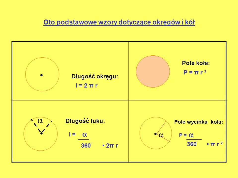 Kąty w kole Kąt środkowy Kąt wpisany to kąt, którego wierzchołek leży w środku koła.leży na okręgu, a miara jest mniejsza niż 180 ْ 2 Kąt wpisany jest dwa razy Kąty wpisane oparte na tym Kąt wpisany Mniejszy od kąta środkowego samym łuku mają równe miary.