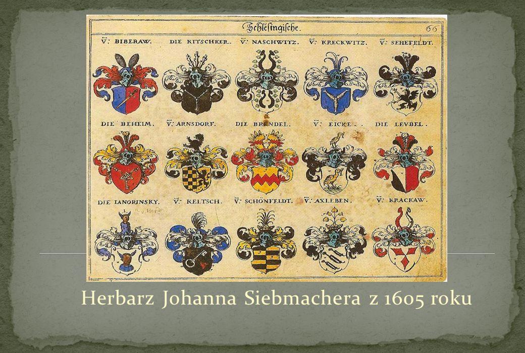 Herbarz Johanna Siebmachera z 1605 roku