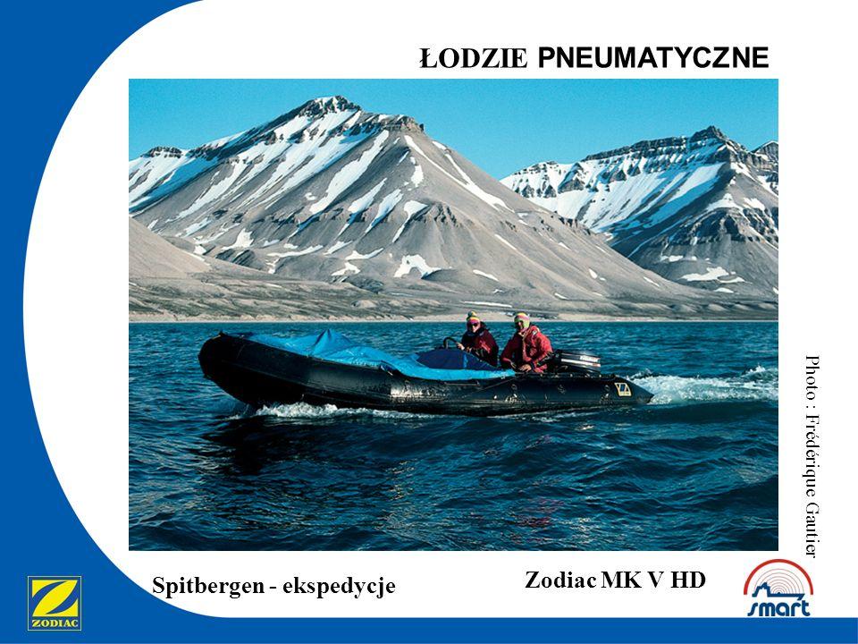ŁODZIE PNEUMATYCZNE Spitbergen - ekspedycje Zodiac MK V HD Photo : Frédérique Gautier