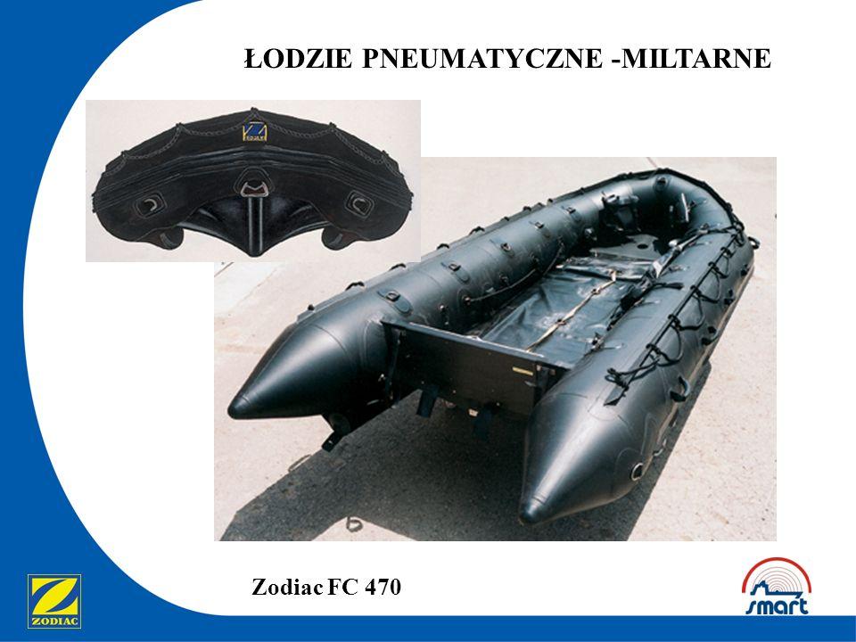 ŁODZIE PNEUMATYCZNE -MILTARNE Zodiac FC 470