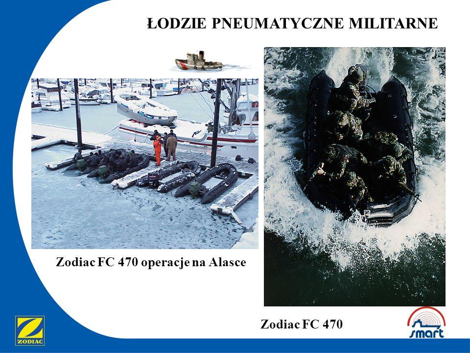 Zodiac FC 470 operacje na Alasce ŁODZIE PNEUMATYCZNE MILITARNE