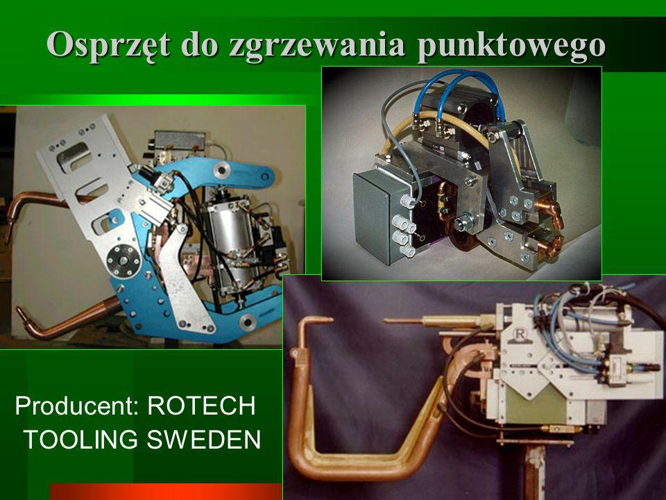 7 Osprzęt do zgrzewania punktowego Producent: ROTECH TOOLING SWEDEN