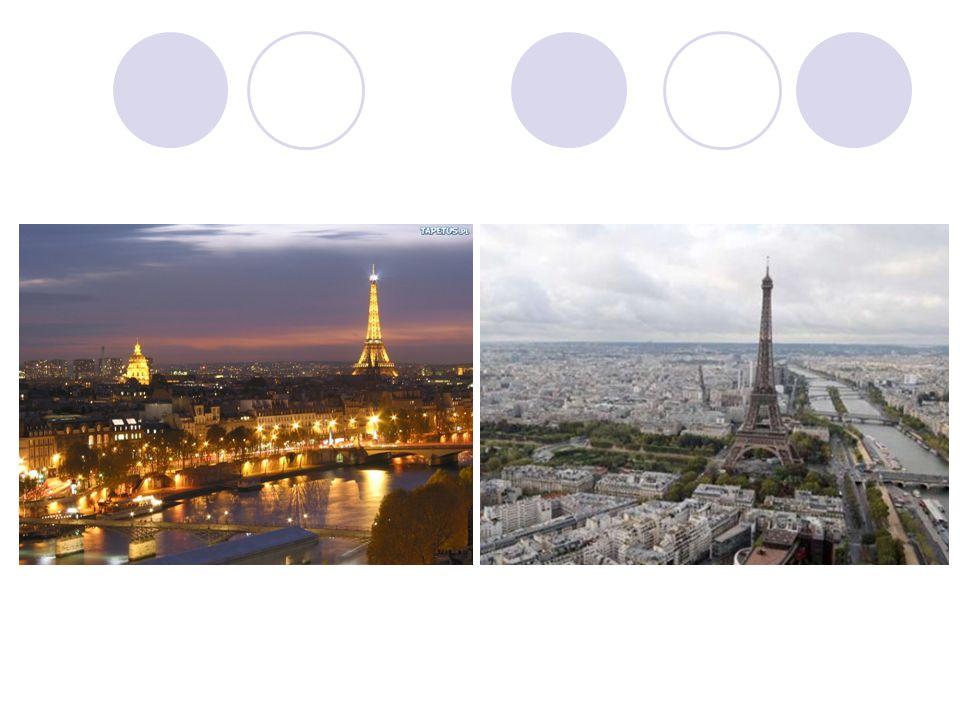 Wieża Eiffla najbardziej znany obiekt architektoniczny Paryża, rozpoznawany również jako symbol Francji.