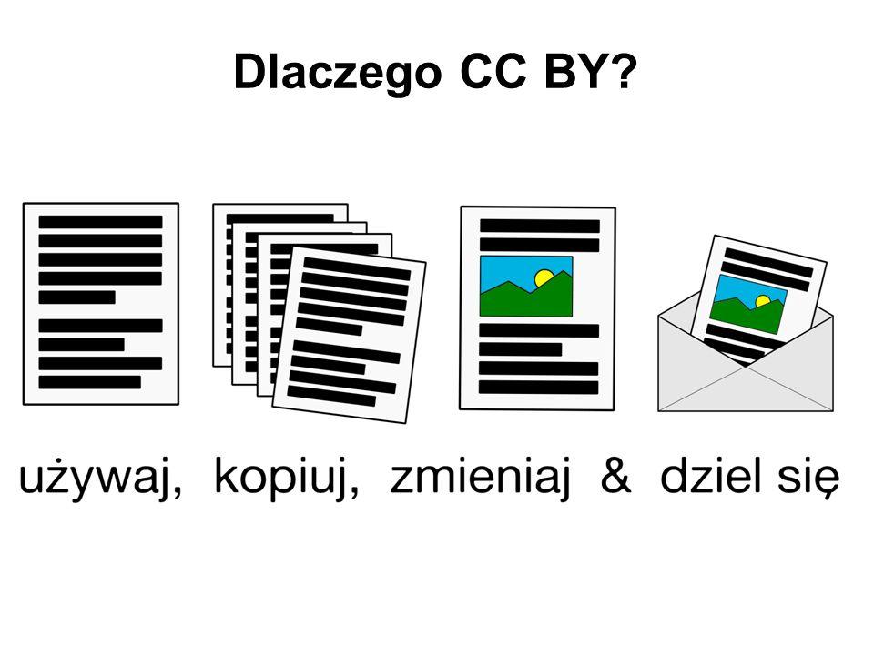 Dlaczego CC BY?