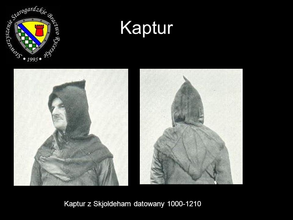 Kaptur Kaptur z Skjoldeham datowany 1000-1210