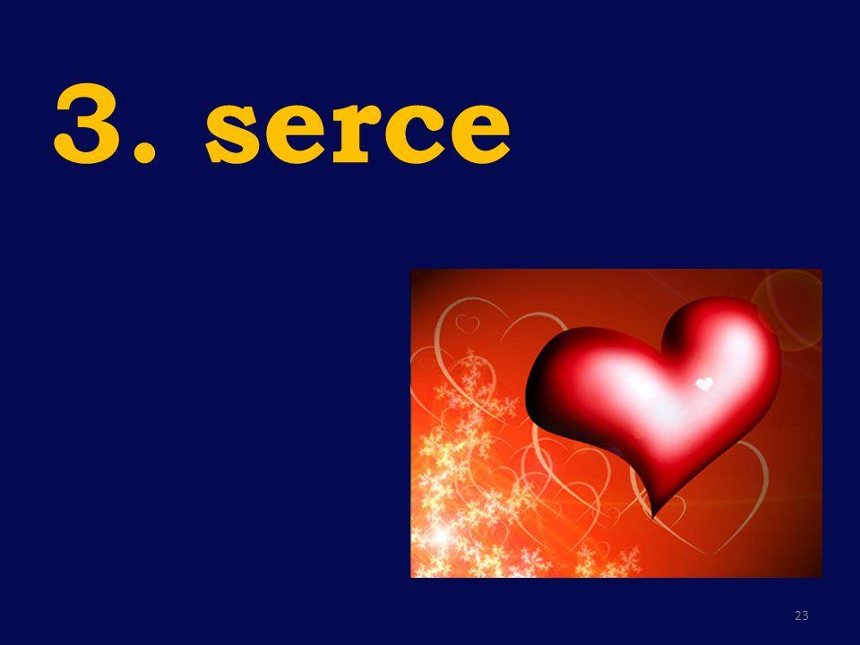 3. serce 23