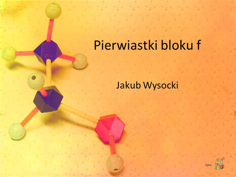 Pierwiastki bloku f Jakub Wysocki Dalej