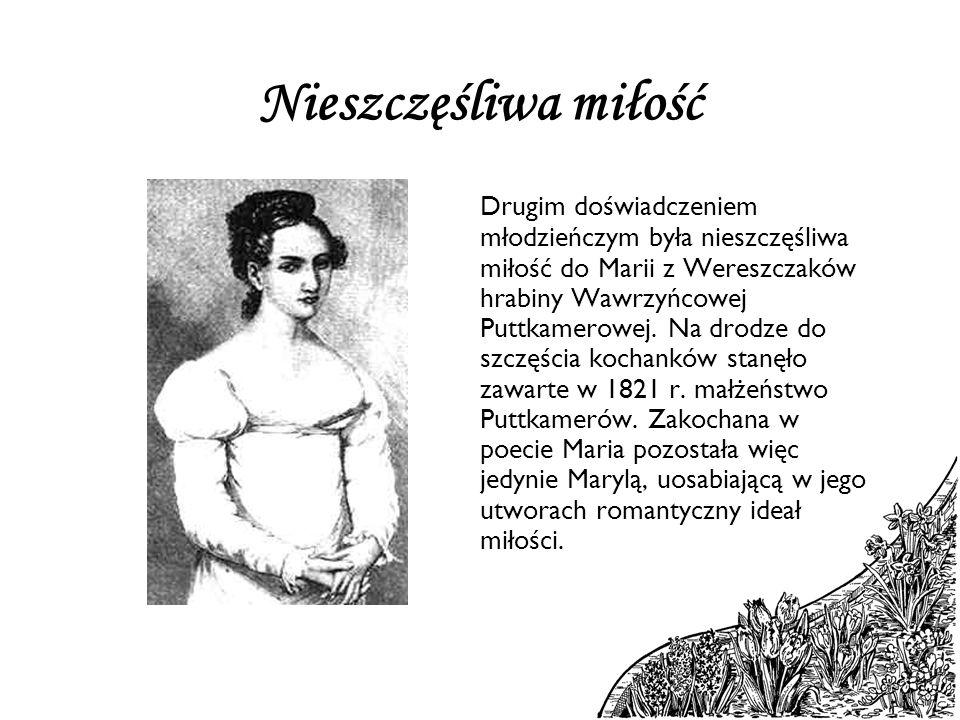 Kontakt z folklorem Trzecim doświadczeniem Mickiewicza był kontakt z folklorem.