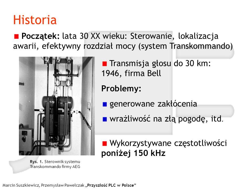 Marcin Suszkiewicz, Przemysław Pawełczak Przyszłość PLC w Polsce Porównanie przepływności Tab.