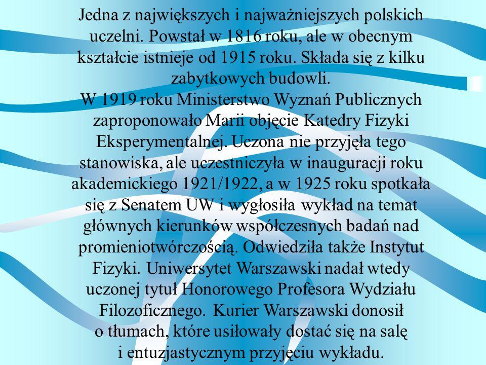 Jedna z największych i najważniejszych polskich uczelni. Powstał w 1816 roku, ale w obecnym kształcie istnieje od 1915 roku. Składa się z kilku zabytk