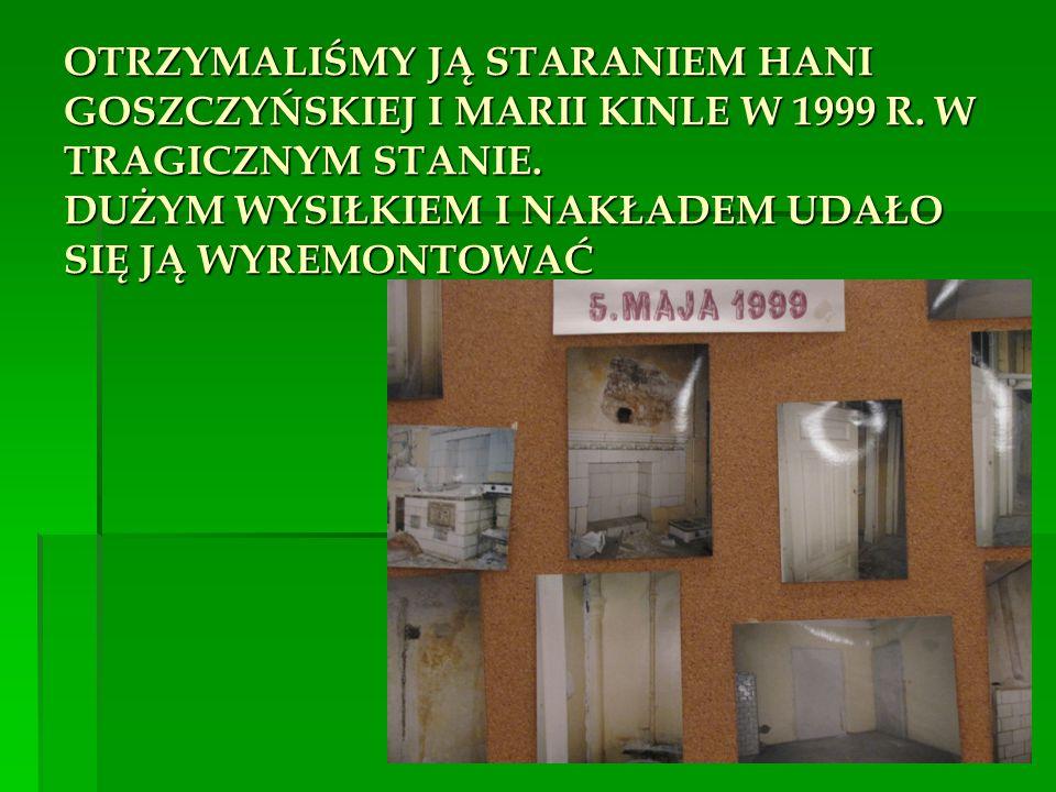 Nasz oddział powstał jako jeden z pierwszych w czasie tworzenia się struktur stowarzyszenia 20 lat temu.