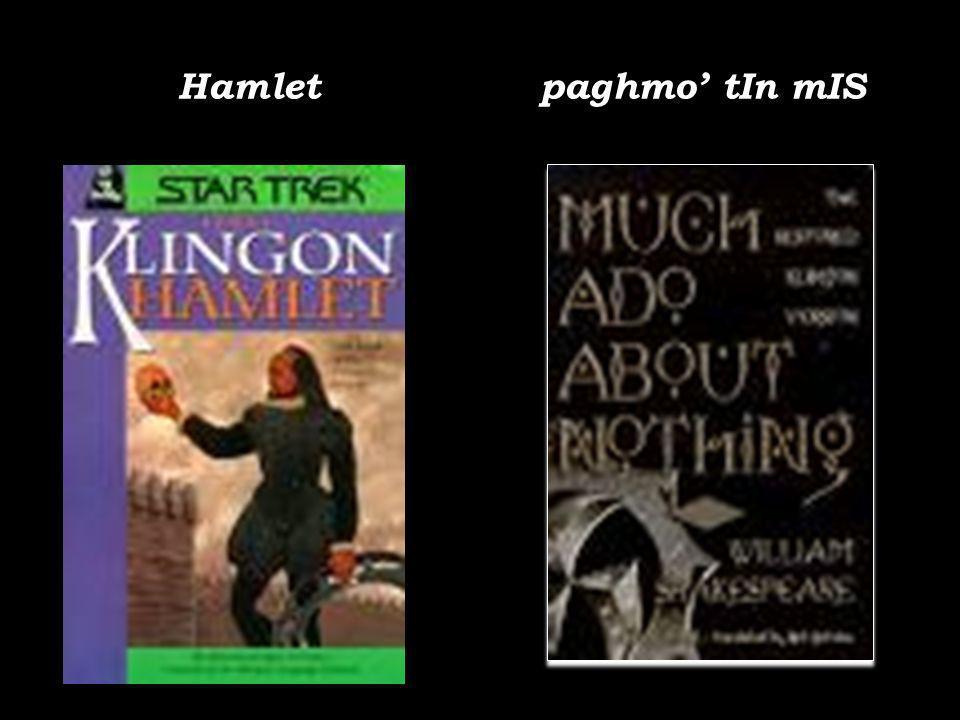 Hamlet paghmo tIn mIS